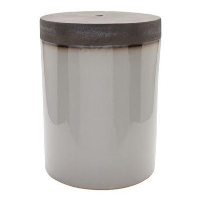 Surya PLS00 Palominas Ceramic Stool