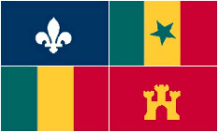 louisiana flag pictures