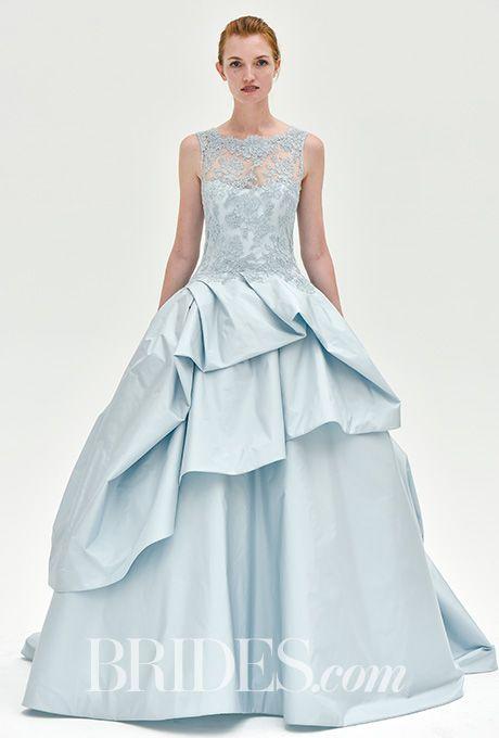 Brides: Kenneth Pool Wedding Dresses - Fall 2017 - Bridal Fashion Week