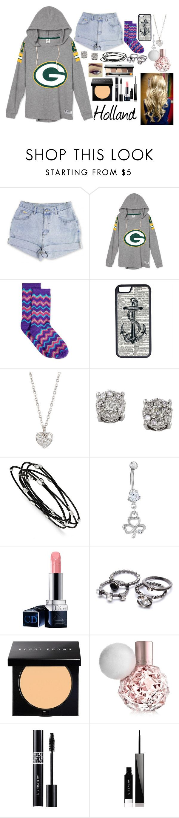"""""""Holland ~ Ch. 2"""" by brianna-764 ❤ liked on Polyvore featuring HOT SOX, CellPowerCases, Finn, Effy Jewelry, Kevin Jewelers, Christian Dior, Bobbi Brown Cosmetics and Givenchy"""