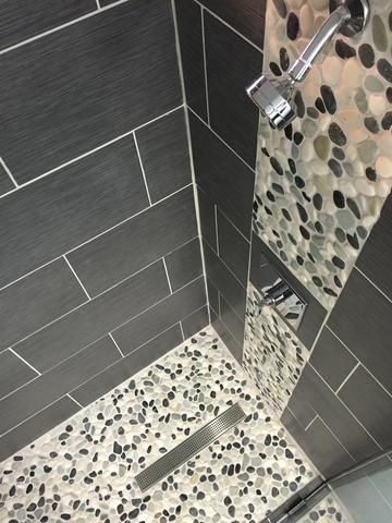 Top 25+ best Modern bathroom tile ideas on Pinterest Modern - bathroom floor tiles ideas
