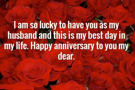 first wedding anniversary wishes for husband happy wedding anniversary wishes for husband with images 14520