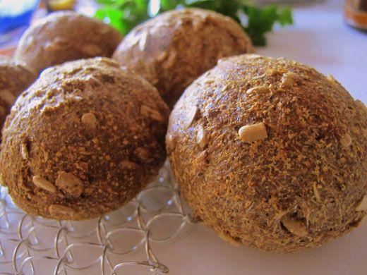 lowcarb Brötchen, glutenfreie Brötchen