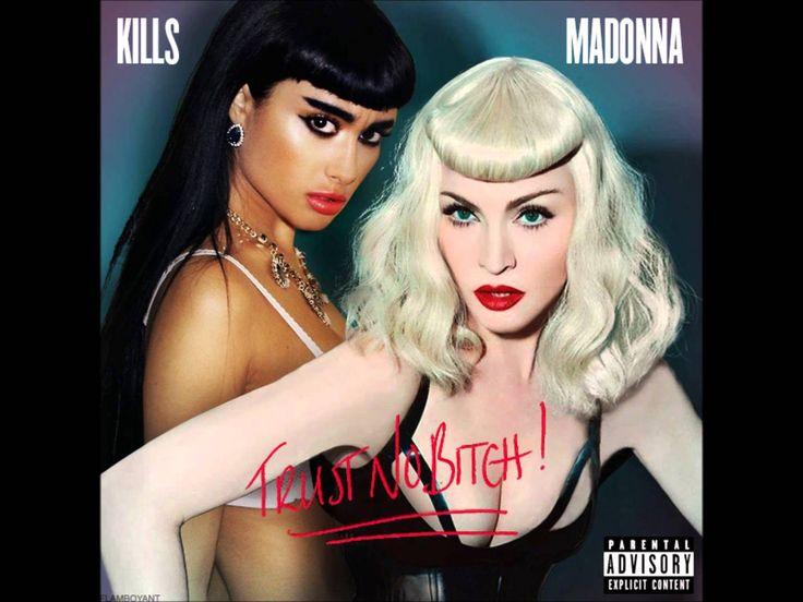 Madonna Feat. Natalia Kills - Trust No Bitch Demo