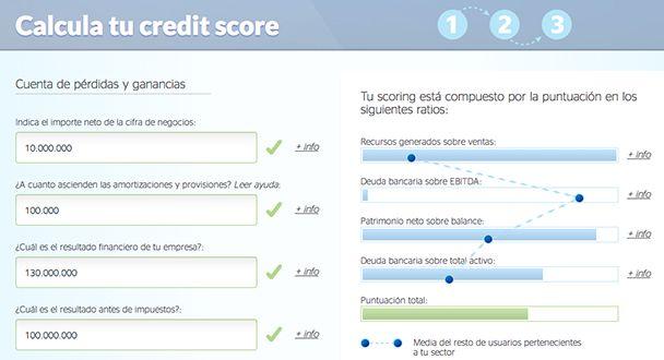 Desarrollar una herramienta online que ayude a mejorar los conocimientos económico-financieros de los usuarios desde el punto de vista del analista de riesgo: CreditPyme