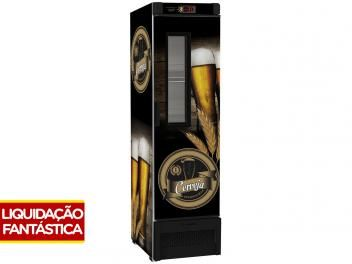 Cervejeira/Expositor Vertical Porta com Visor - 324 litros - VN28FL - Metalfrio