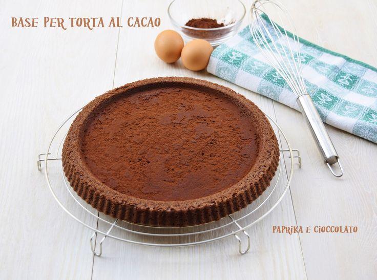 Base per Torta al cacao