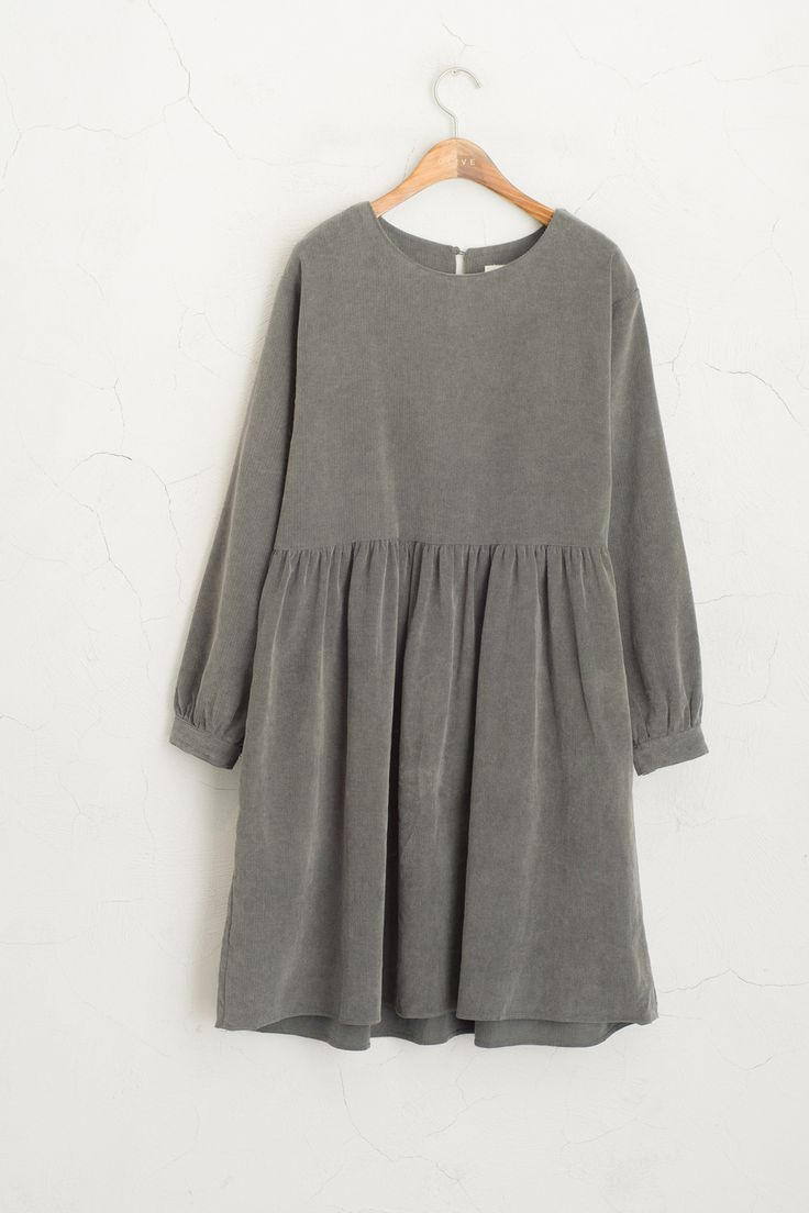 Olive - Corduroy Cutie Dress, Charcoal, £59.00 (http://www.oliveclothing.com/p-oliveunique-20151207-008-charcoal-corduroy-cutie-dress-charcoal)