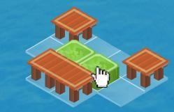 Tahta köprü yapmak için kolları sıvayın. Zorlu bölümlerde yönergeleri izleyin, zekanızı kullanın ve köprüleri oluşturun. #zekaoyunlari   http://www.oyuntr.net/zeka-oyunlari