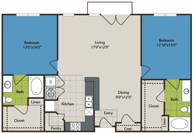 Lennox at West Village Apartments - Dallas Apartments For Rent ...