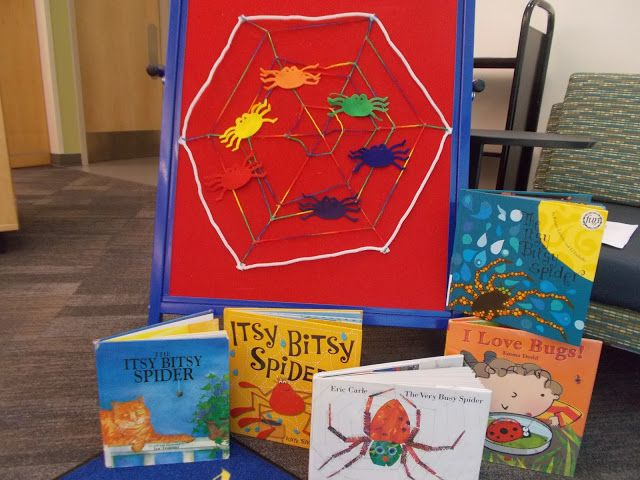 Fun with Friends at Storytime: Spiders!