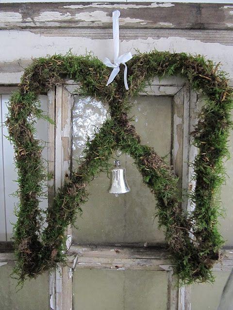 Een mooi stilleven:Engelenvleugels van mos