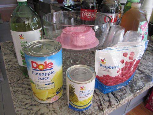 Pink Sherbert Punch Recipe  Great For #babyshower Or #bridalshower    Spotofteadesigns.com