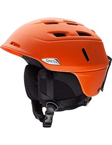 Smith Optics Unisex Adult Camber Snow Sports Helmet  Matte Orange Large 5963CM * You can find out more details at the link of the image.