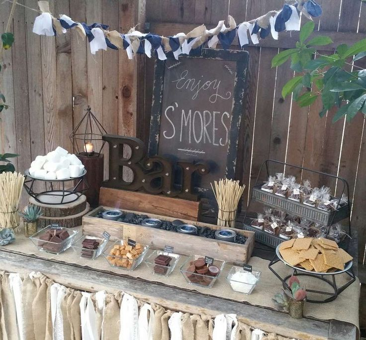 Rustic Barn Wedding Food Ideas: 468 Best S'mores Bar Images On Pinterest