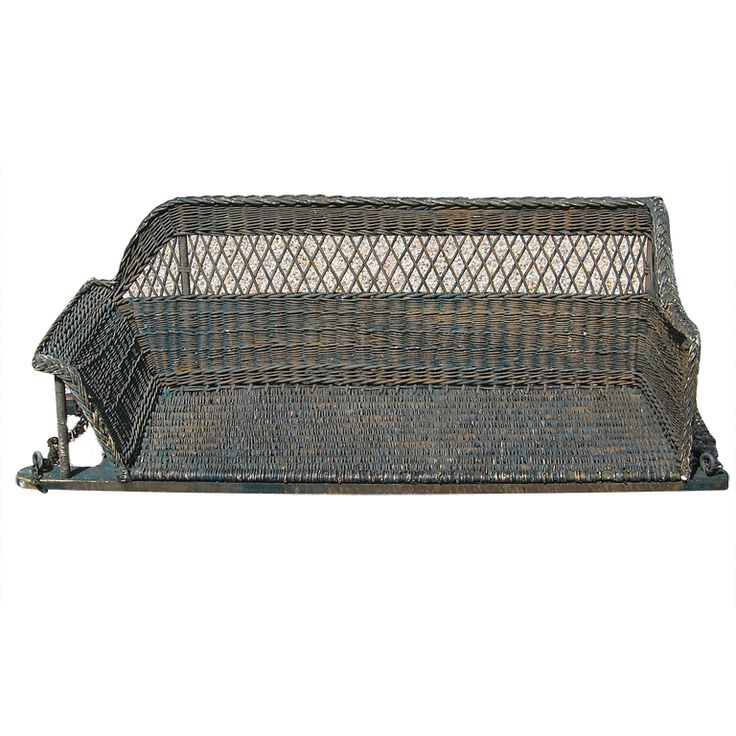 BAR HARBOR WICKER PORCH SWING | From a unique collection of antique and modern garden furniture at http://www.1stdibs.com/furniture/building-garden/garden-furniture/