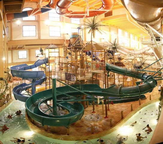 Wisconsin Dells in the Winter (some toddler-friendly activities)