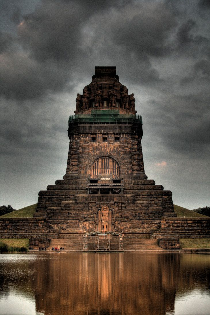 Monument to the Battle of the Nations Leipzig - Germany.