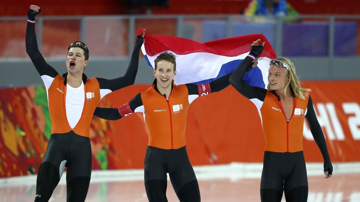 2014 Winter Olympics, Dutch Men Speed Skaters