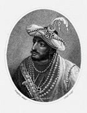 Portrait of Tipu Sultan