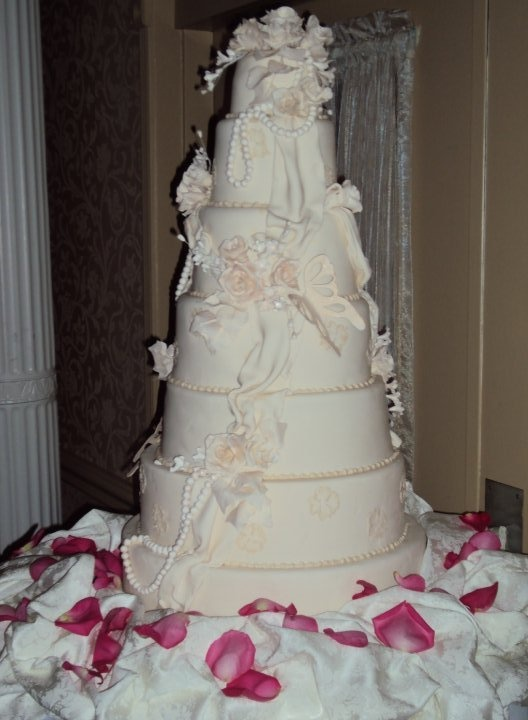 My wedding cake!  -From Takes the Cake