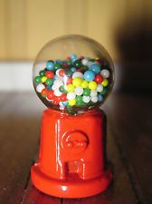 Vintage Dollhouse Miniature Gumball Machine Chadwick-Miller 1970's