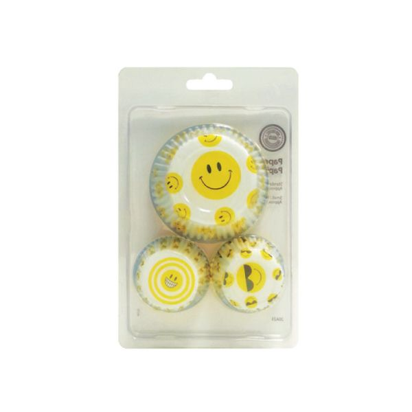 Baking MAGIC - Smiley faces baking cup 80 pieces for $1.5  Langham Mall, Unit 2333 & 2335 Level 2, 8339 Kennedy Road, Markham, Ontario, Canada  www.OneOfAKaIND.com