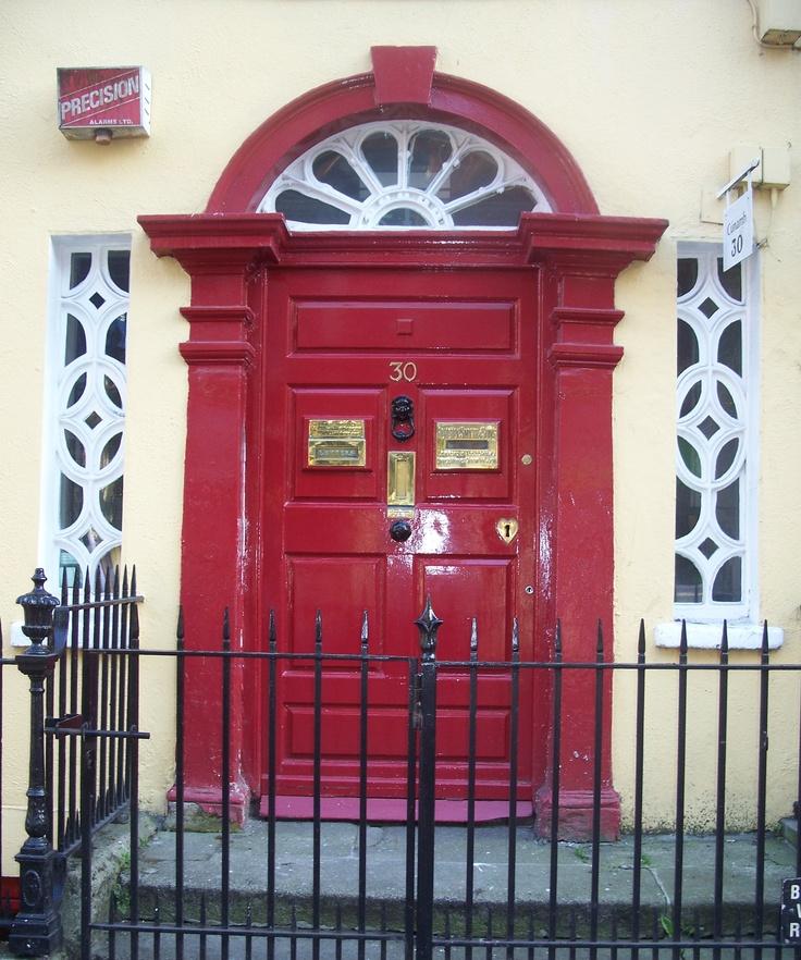 Yellow Notice On Front Door: 17 Best Images About Irish Doors On Pinterest