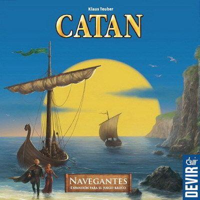 Catan - Navegantes http://boardgamegeek.com/boardgameexpansion/325/catan-seafarers