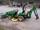 JOHN DEERE 2305 TRACTOR LOADER BACKHOE MOWER