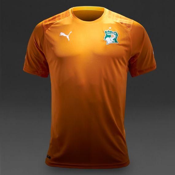 Puma Ivory Coast 2014 Home Jersey