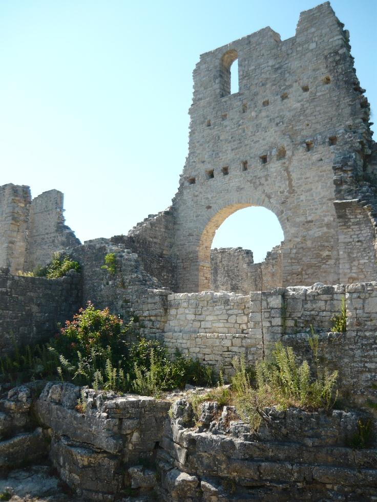 Kroatie - Dvigrad, de verlaten stad