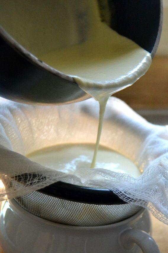 Making Homemade Mascarpone Cheese