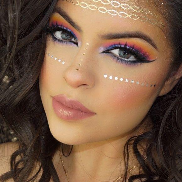 Coachella Glam Makeup Tutorial | Makeup Geek