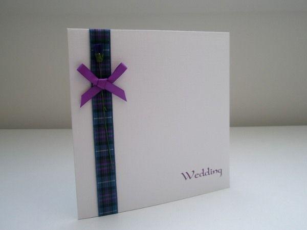 Scottish Themed Wedding   scottish wedding invitation design S4 single