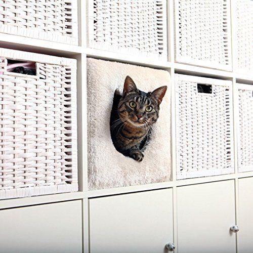 Kuschelhöhle fürs Regal   Raumteiler   Tolle Idee   platzsparend   z.B. IKEA EXPEDIT