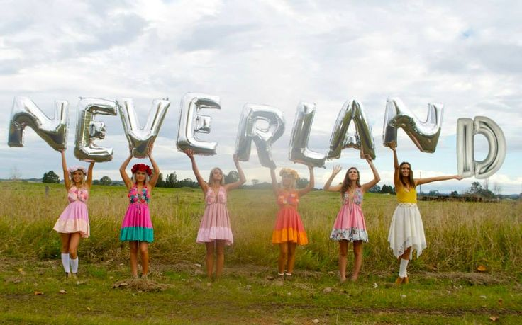 """AVAILABLE FROM: www.neverlandbytink.com  Photoshoot for """"neverland by tink"""" in Grafton, NSW (great marlow road). Every item is handmade in Miami, Gold Coast.   These images are inspired by the clarence river, open fields, happiness, coachella, festival style, good times, best friends, and flowers."""