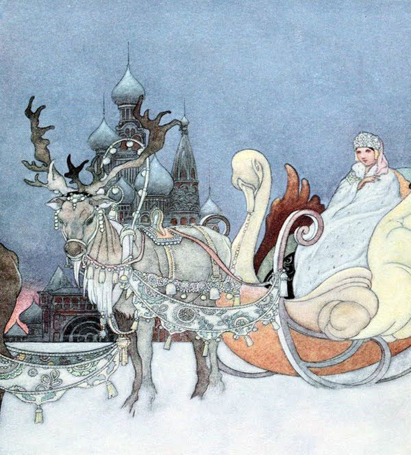 Isn't is this amazing, has my deer and my swan.  By Charles Robinson