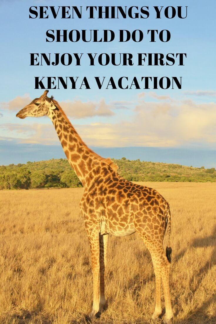 Seven Things You Should Do to Enjoy Your First Kenya Vacation