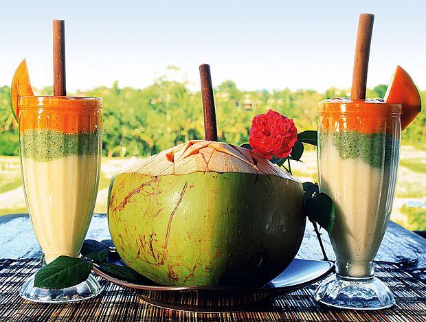 Fresh and fruity at Sari Organik, Ubud, Bali