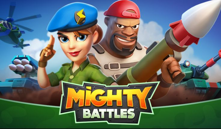 Mighty Battles mixes Clash Royale strategy with FPS action on Google Play Store