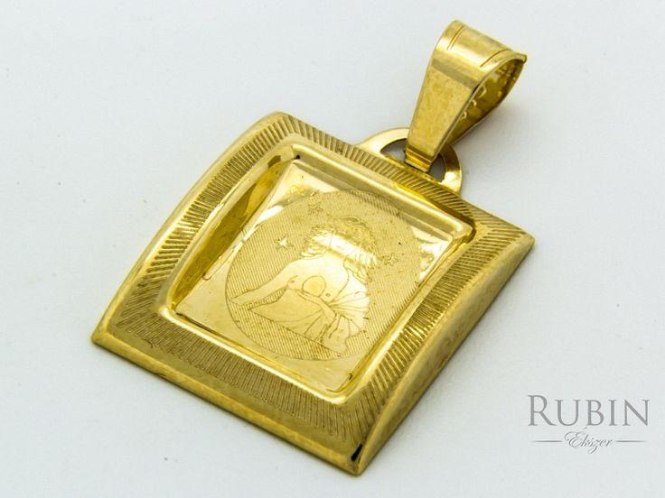 Szűz horoszkóp arany medál