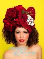 Siempre el Amor – Day of the Dead headdress