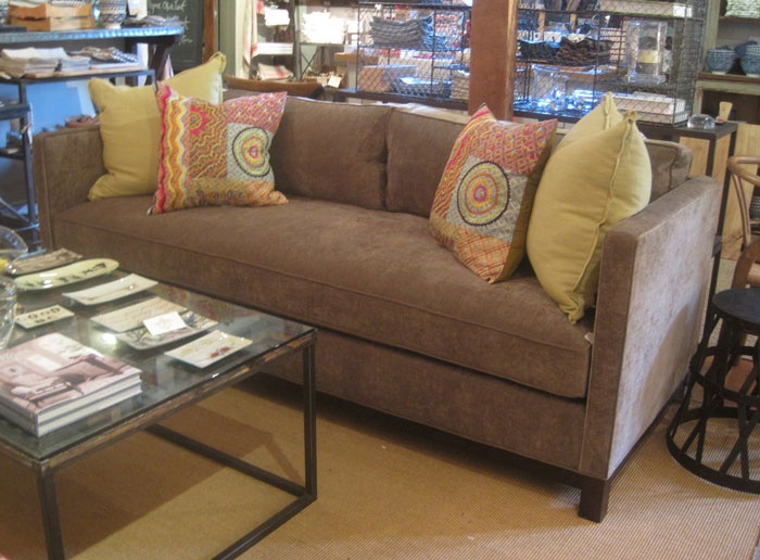 Cllifton sofa in Vestige Flint fabric