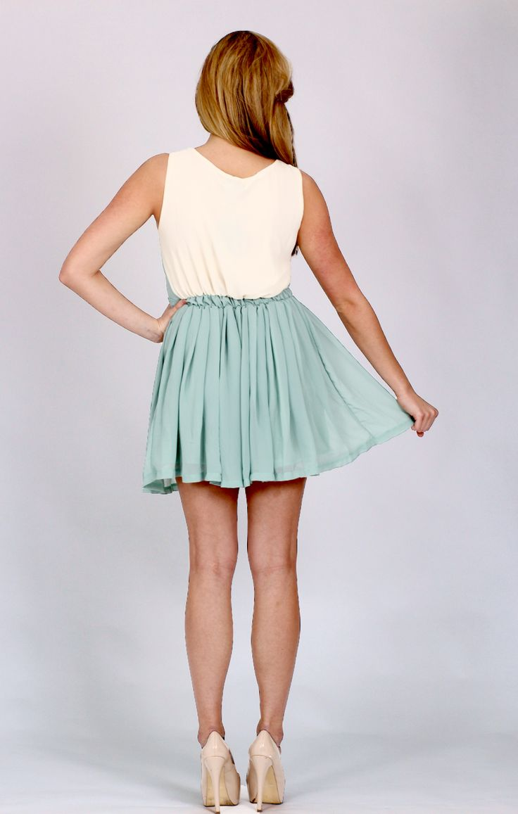 Pretty in Pastel add Pleats and a Sheer Fabric this ticks so 3 of the top SS2014 trends