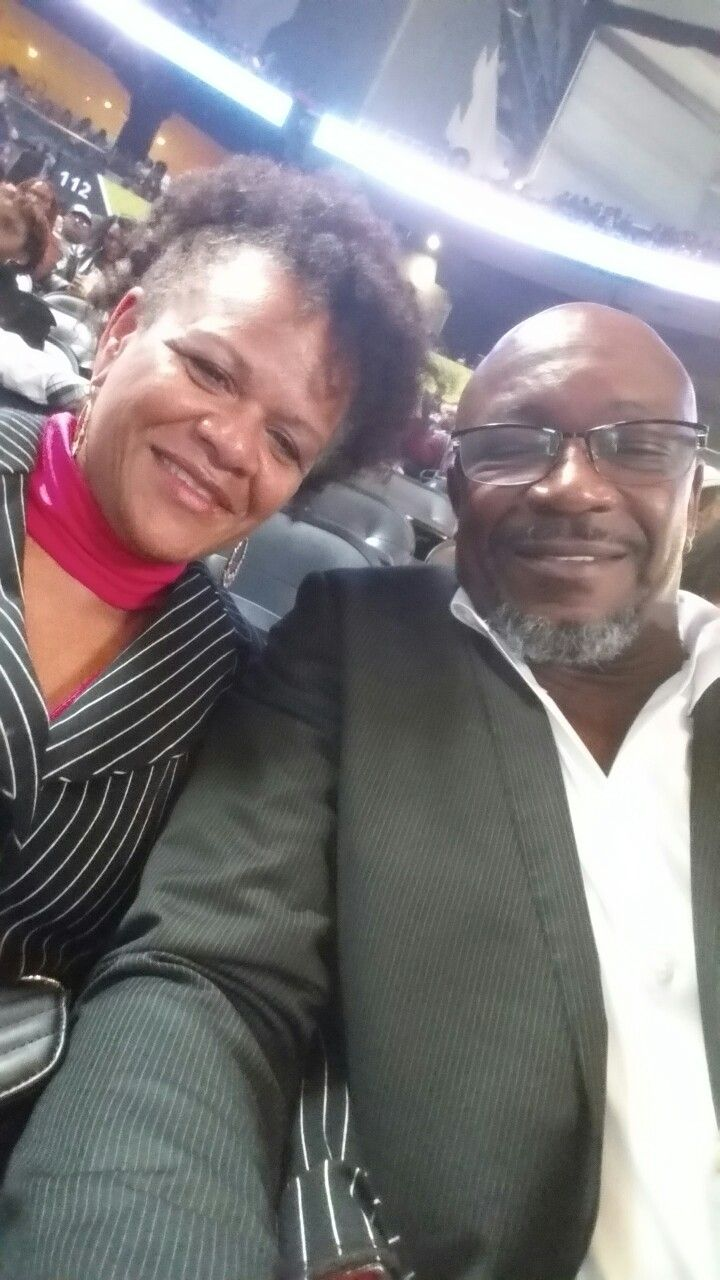Ronnie and Patricia @ Philips Arena. ...