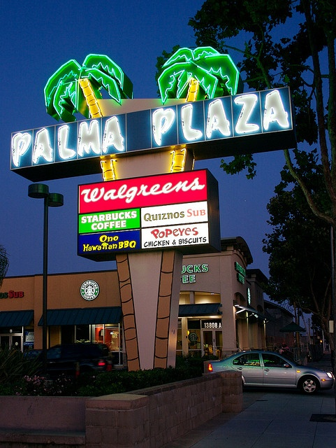 Palma Plaza....San Leandro, California. Of course, when I lived there, Starbucks wasn't in existence!
