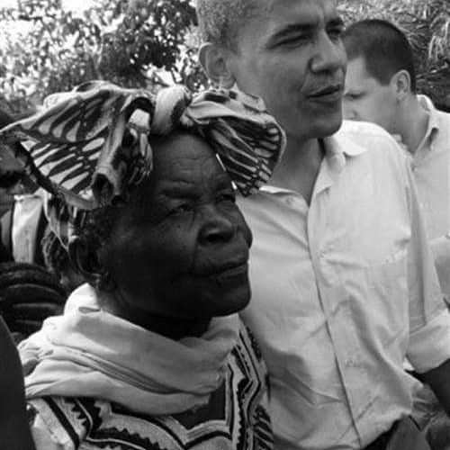 """I SUPPOSE ONE WOULD SAY THAT I HAVE DONE MY HISTORY REPORT INDEED PEOPLE LIKE DONALD TRUMP LOST THEIR MIND....... DONALD TRUMP WANTED TO SEE HIS BIRTH CERTIFICATE!  THIS IS PRESIDENT BARACK OBAMA WITH HIS GRANDMOTHER<3 """"When President Barack Obama was sworn in on Tuesday he was surrounded by an extended clan that would have shocked past generations of Americans and instantly redrew the image of a first family for future ones.  As they convened to take their familys final step in its journey…"""