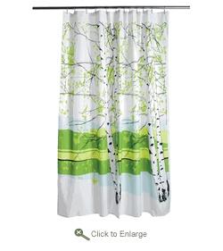 Kaiku shower curtain from Merimekko (already have)