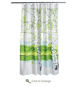 Kaiku shower curtain from Merimekko (already have)